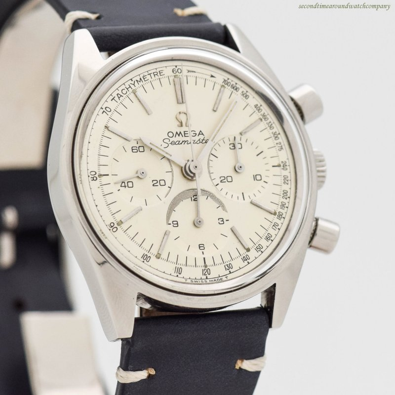 Second Time Around Vintage Watch 1968 Vintage Chronograph Omega